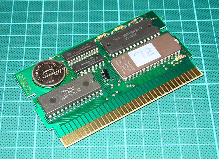 NA » Why does my NES Zelda has an Eprom ?